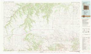 Kim 1:250,000 scale USGS topographic map 37103a1
