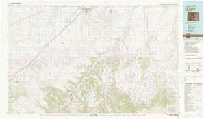 La Junta 1:250,000 scale USGS topographic map 37103e1