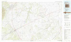 Walsenburg topographical map