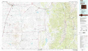 Alamosa topographical map