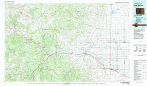 Del Norte topographical map