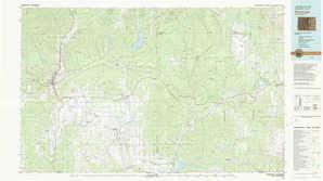 Durango topographical map