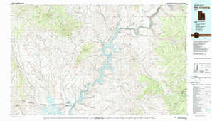 Hite Crossing 1:250,000 scale USGS topographic map 37110e1