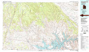 Smoky Mountain 1:250,000 scale USGS topographic map 37111a1