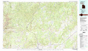 Kanab topographical map