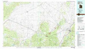 Cedar City topographical map