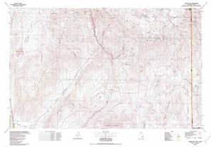 Clover Mountains 1:250,000 scale USGS topographic map 37114a1