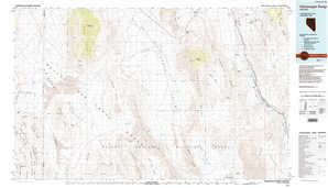 Pahranagat Range 1:250,000 scale USGS topographic map 37115a1