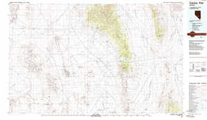 Cactus Flat topographical map