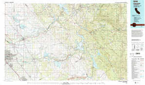 Oakdale topographical map