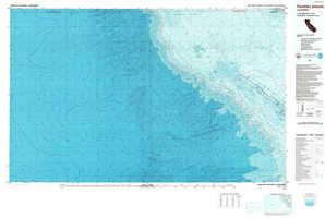 Farallon Islands topographical map