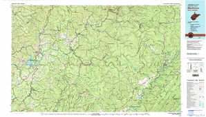 Marlinton topographical map