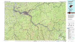 Charleston topographical map