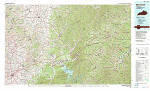 Morehead topographical map