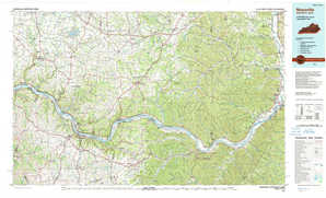 Maysville topographical map