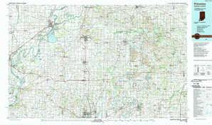 Princeton topographical map