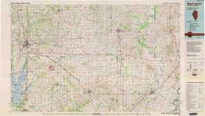 Mount Vernon topographical map