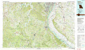 Festus topographical map