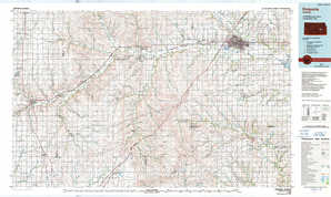 Emporia 1:250,000 scale USGS topographic map 38096a1