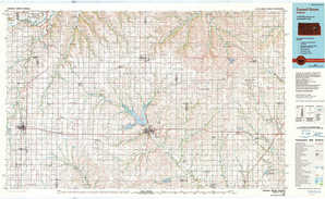 Council Grove topographical map