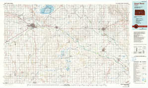 Great Bend topographical map