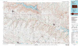 Russell topographical map