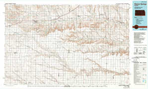 Sharon Springs topographical map