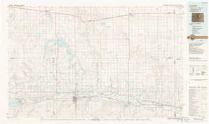 Lamar topographical map