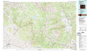 Gunnison topographical map