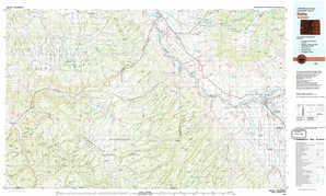 Delta 1:250,000 scale USGS topographic map 38108e1