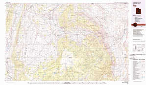 Loa topographical map