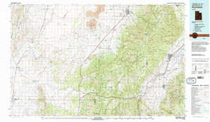Richfield topographical map