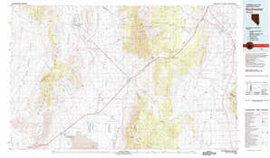 Duckwater topographical map