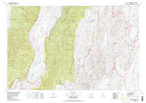 Mount Jefferson topographical map