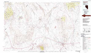 Tonopah topographical map