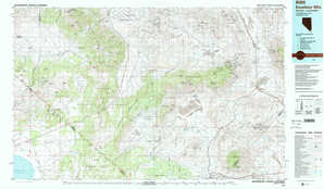 Excelsior Mountains topographical map