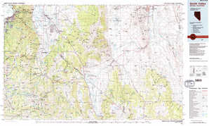 Smith Valley topographical map