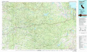 Placerville topographical map