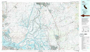 Lodi topographical map