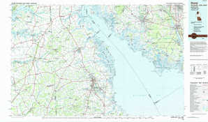 Dover topographical map