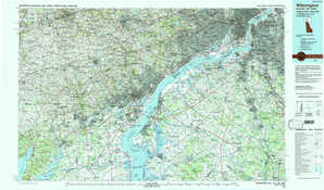 Wilmington topographical map