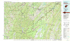 Kingwood topographical map