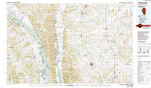 Jerseyville topographical map