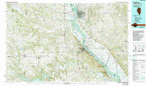 Quincy topographical map