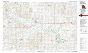 Chillicothe topographical map
