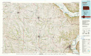 Atchison topographical map