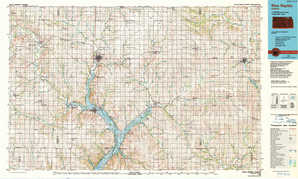 Blue Rapids topographical map