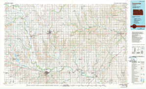 Concordia topographical map