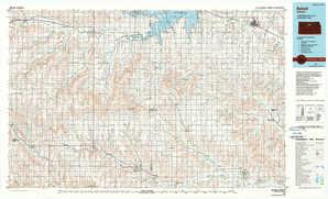 Beloit 1:250,000 scale USGS topographic map 39098a1