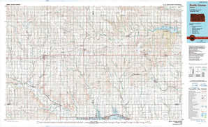 Smith Center topographical map